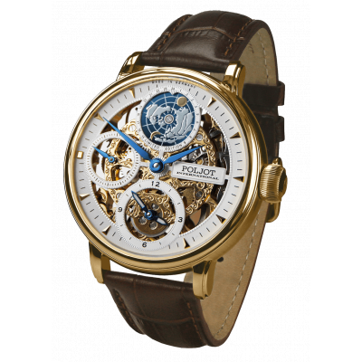 POLJOT INTERNATIONAL GLOBETROTTER HAND WINDING 43MM MEN'S WATCH LIMITED EDITION 300PIECES  9730.2940651