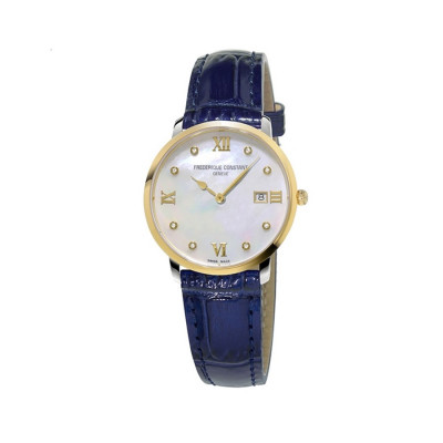 FREDERIQUE CONSTANT CLASSICS QUARTZ 36 MM LADY'S WATCH FC-220MPWD3S3