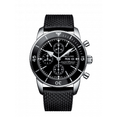 BREITLING SUPEROCEAN HERITAGE II CHRONOGRAPH  44MM MEN'S WATCH A13313121B1S1