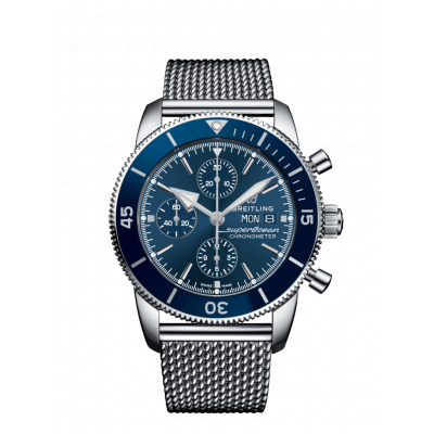 BREITLING SUPEROCEAN HERITAGE II CHRONOGRAPH  44MM MEN'S WATCH A13313161C1A1