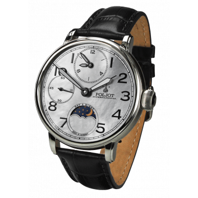 POLJOT INTERNATIONAL DOUBLE TIMER 43MM MEN'S WATCH 9120.2940335