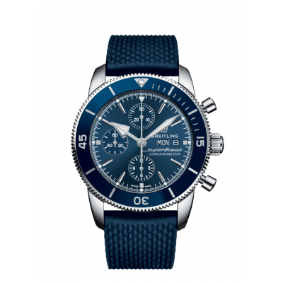 BREITLING SUPEROCEAN HERITAGE II CHRONOGRAPH  44MM MEN'S WATCH A13313161C1S1