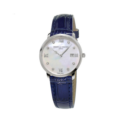 FREDERIQUE CONSTANT CLASSICS QUARTZ 36 MM LADY'S WATCH FC-220MPWD3S6