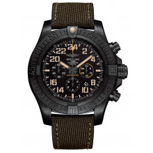 BREITLING HURRICANE MILITARY 50MM AUTOMATIC MEN'S WATCH LIMITED EDITION 1000PIECES XB12101A/BF46/283S